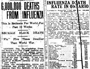 pandemi influenza 1918