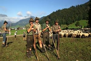 Penduduk Alpen di Eropa