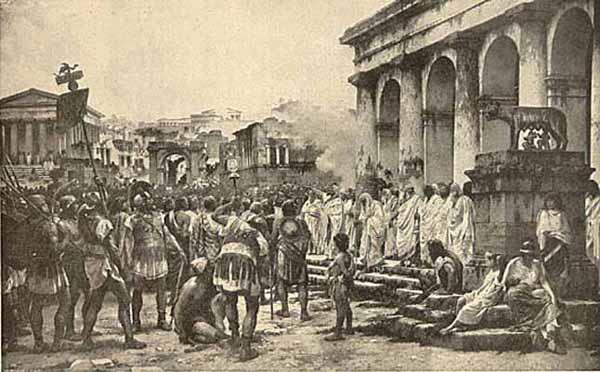Perbudakan di Romawi