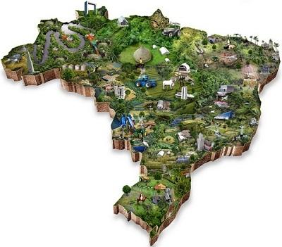 Peta Brazil