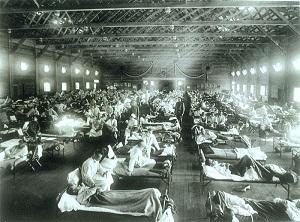 wabah flu 1918