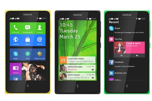 Gambar Nokia X