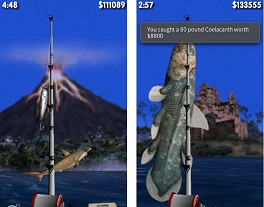 game memancing android