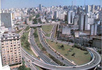 Kota São Paulo di Brazil