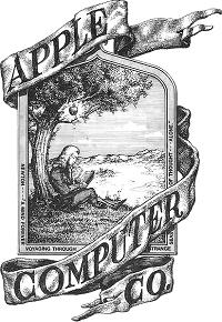 Logo pertama Apple