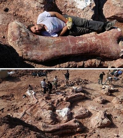 Dinosaurus terbesar di dunia