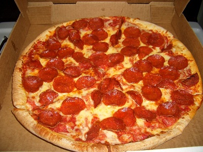 Gambar Pizza Pepperoni
