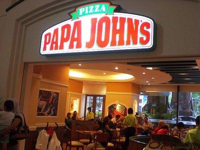 Restoran Papa John's Pizza