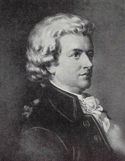 Foto Wolfgang Amadeus Mozart