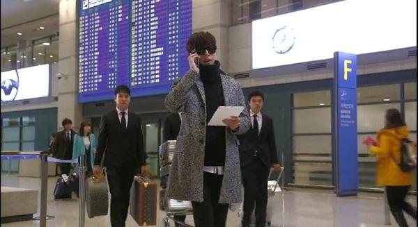 Gambar adegan airport drama Korea