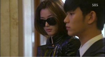 Gambar adegan Cheon Song-yi pertama bertemu Do Min-joon