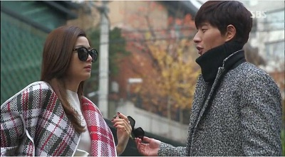 Gambar adegan Lee Hwi-kyung, orang yang mencintai Cheon Song-yi