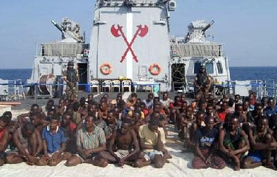 Gambar Bajak Laut Somalia