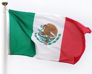 Gambar Bendera Meksiko
