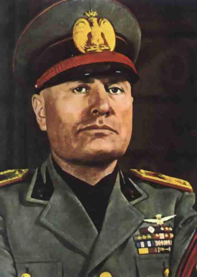 Gambar Benito Mussolini