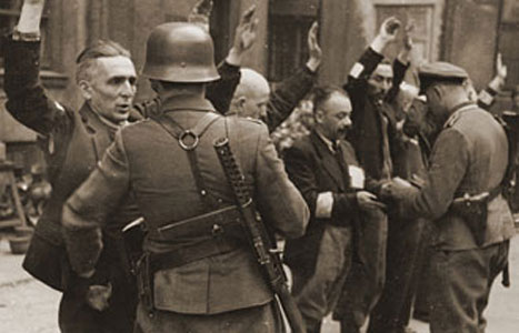Gambar Ghetto Warsawa Polandia