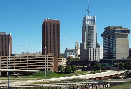 Gambar kota Akron, Ohio