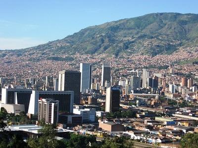 Gambar Kota Medellin