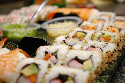 Gambar Makanan Sushi Lezat