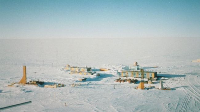 Gambar Stasiun Vostok, Antartika