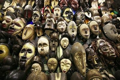 Gambar Topeng Afrika