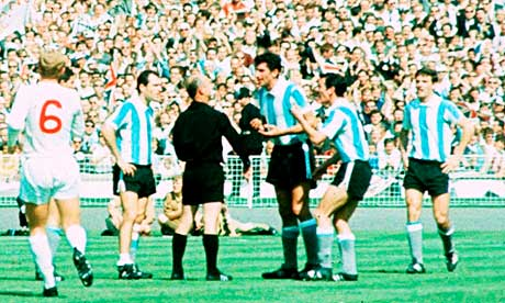 Inggris vs Argentina, 1966