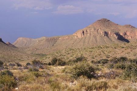 Foto gurun Meksiko
