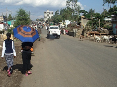Foto Kota di Negara Ethiopia