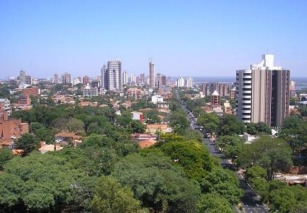 Foto kota di Paraguay