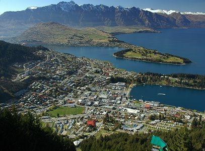 Foto kota di Selandia Baru