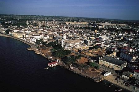 Foto kota di Zanzibar