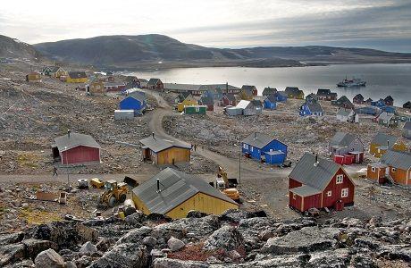 Foto kota Greenland