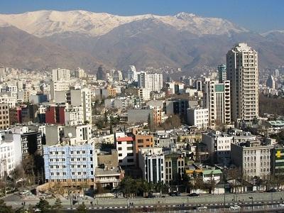 Foto kota Teheran di Iran