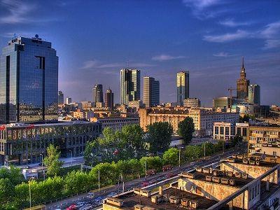 Foto kota Warsawa Polandia