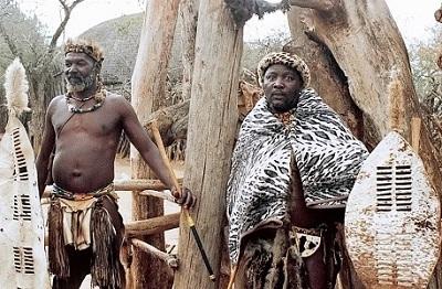 Foto Orang Afrika Unik