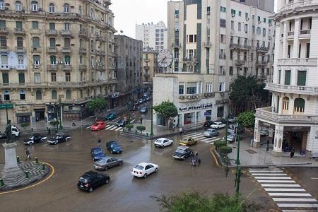 Gambar Jalanan di Kota Kairo Mesir