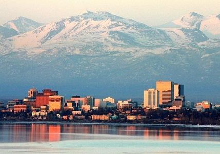 Gambar kota Anchorage Alaska