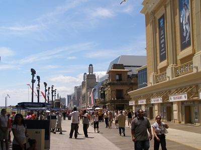 Gambar kota Atlantic City