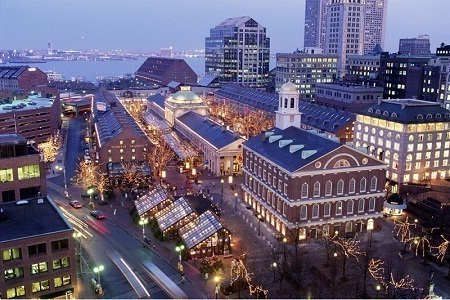Gambar kota Boston