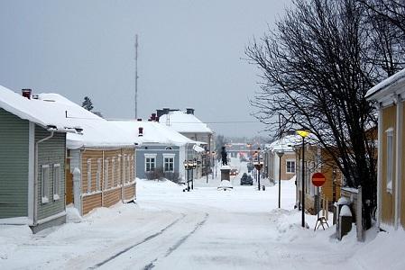 Gambar Kota di Negara Finlandia