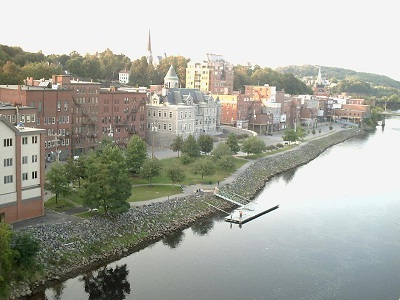 Gambar kota Kota Augusta di Maine
