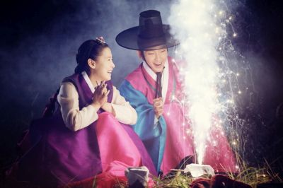 Adegan drama Gunman in Joseon 3
