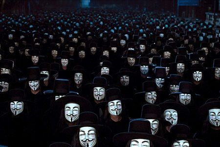 Adegan film V for Vendetta