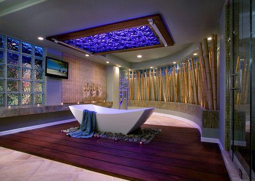 Contoh hiasan bambu untuk rumah 1