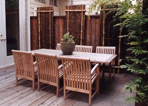 Contoh hiasan bambu untuk rumah 17