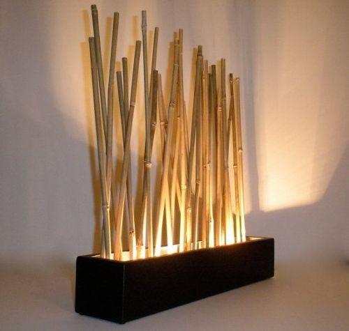 Contoh hiasan bambu untuk rumah 7