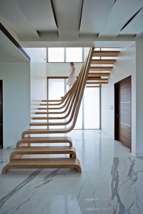 Desain tangga elegan 10