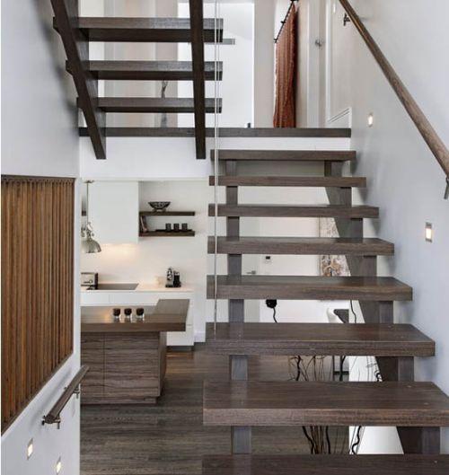 Desain tangga elegan 12