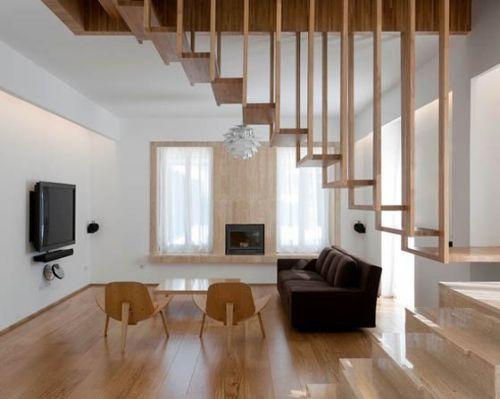 Desain tangga elegan 13