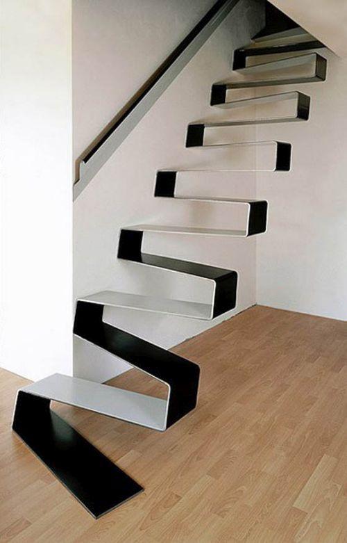 Desain tangga elegan 16
